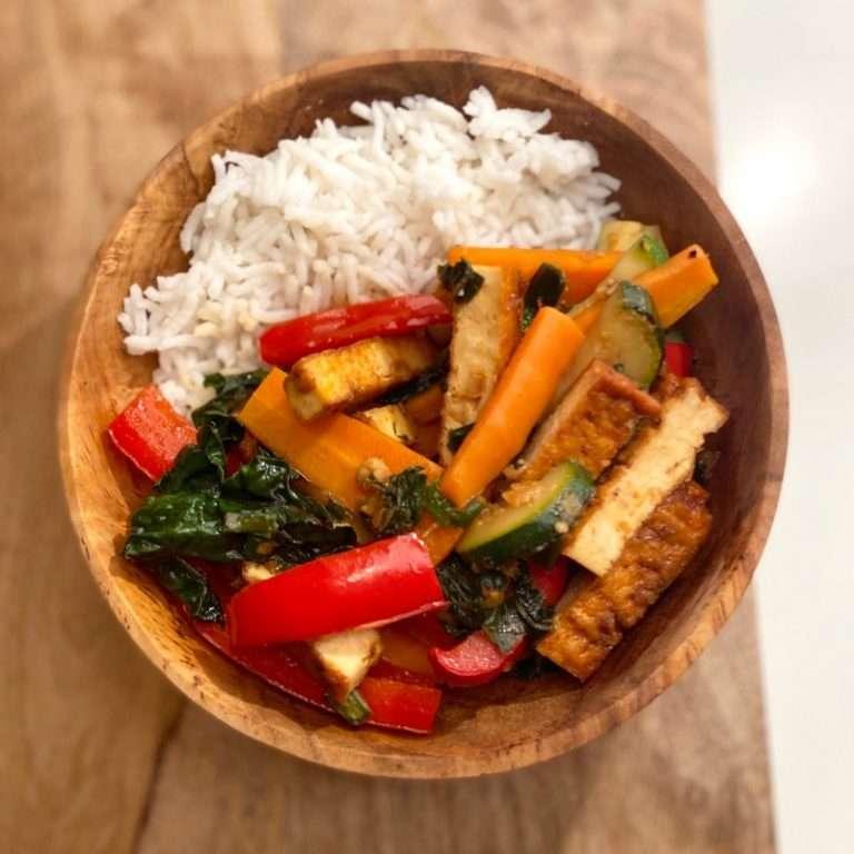 SIBO Vegetable Stir Fry
