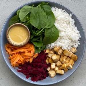 vegan buddha bowl dressing