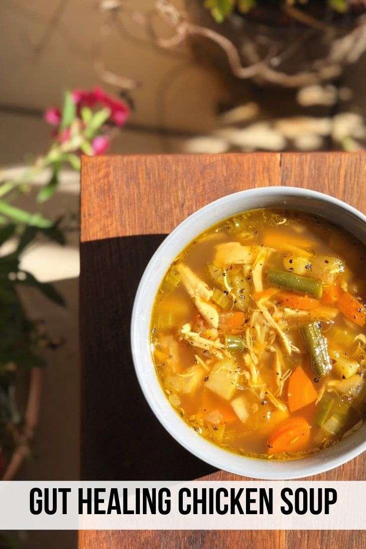 Gut Healing Chicken Soup