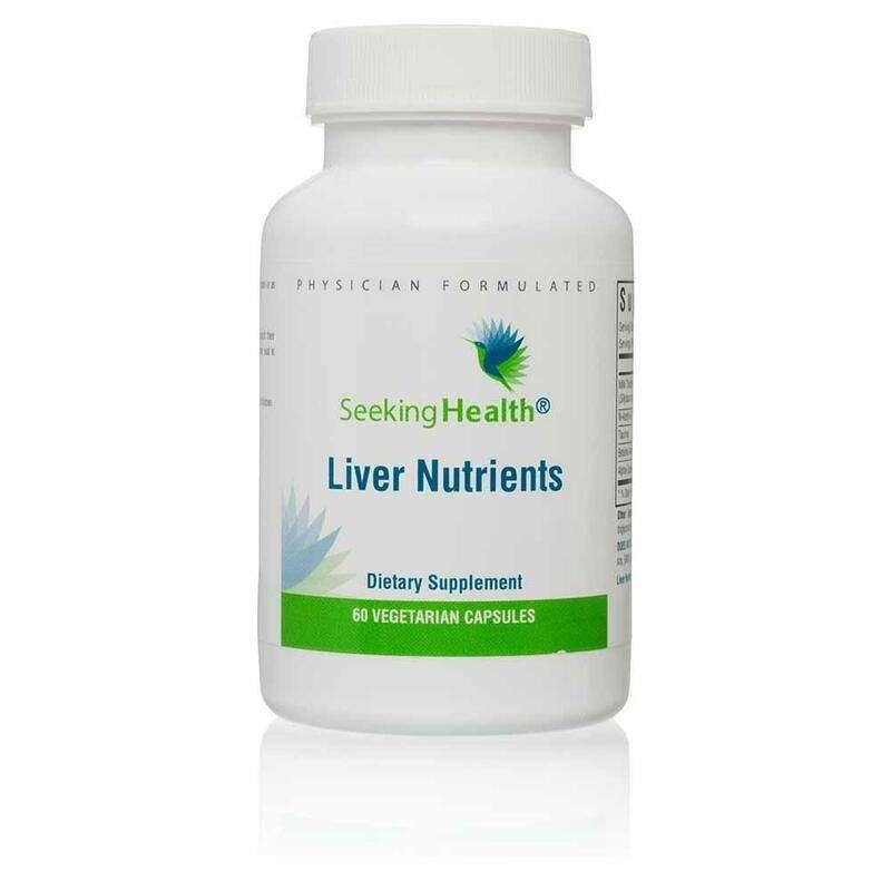 Seeking Health Liver Nutrients
