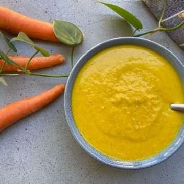 low fodmap carrot soup