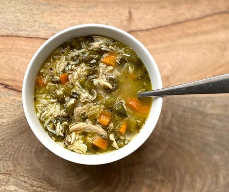 low fodmap chicken soup