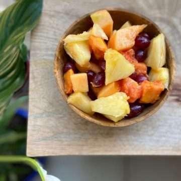 low fodmap fruit salad