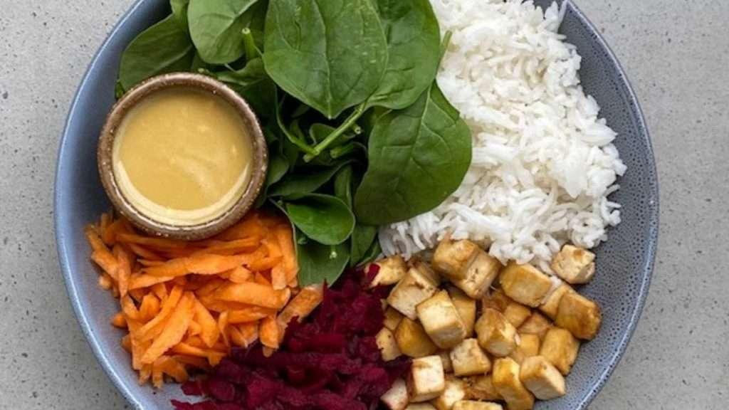 glory bowl vegan buddha bowl