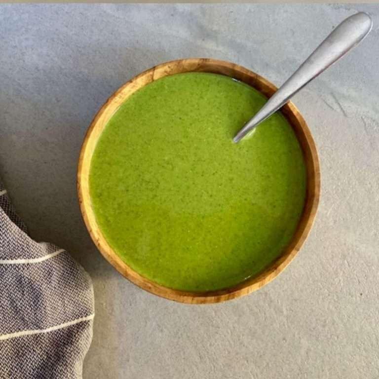 low-fodmap zucchini soup