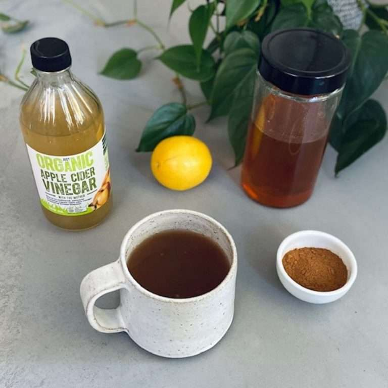apple cider vinegar and cinnamon drink
