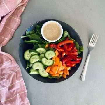 low fodmap salad
