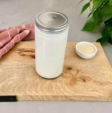 sesame seed milk